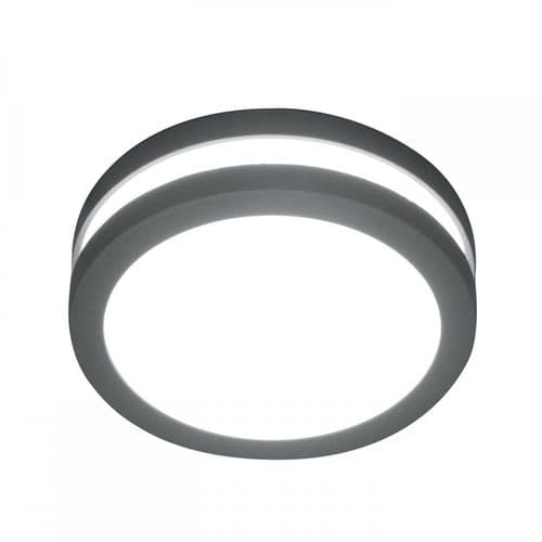 Elstead ANO 1W Ano Outdoor 1 Light Wall/Ceiling Lantern Graphite